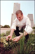 Click Here to read Marty Wingate's Article on Chef Don's Urban Garden